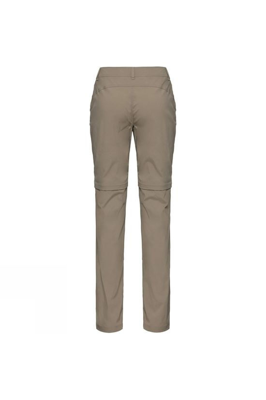 Odlo Womens Wedgemount Zip-Off Pants Fallen Rock
