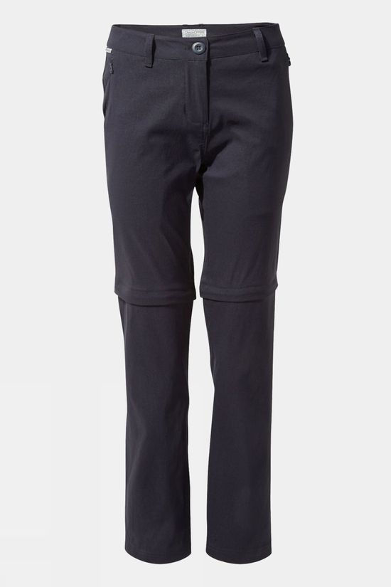 Craghoppers Womens Kiwi Pro II Convertible Trouser Dark Navy