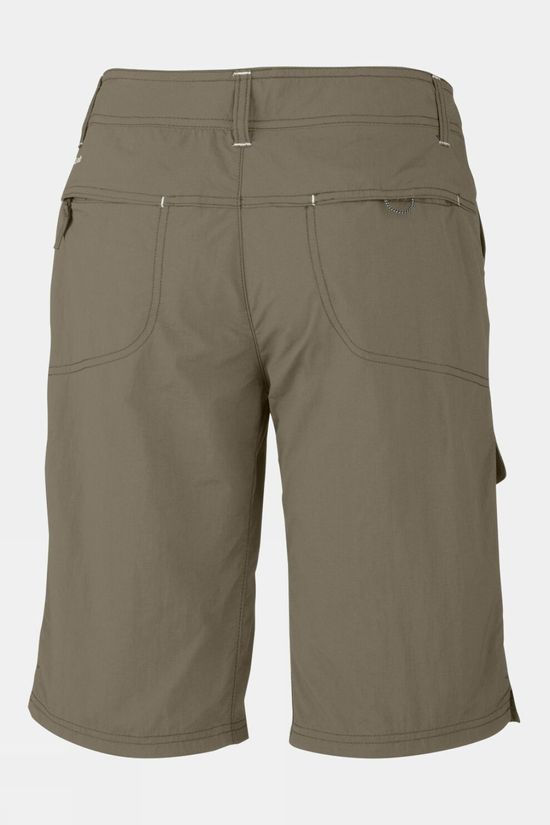 Columbia Womens Silver Ridge Cargo Shorts Tusk