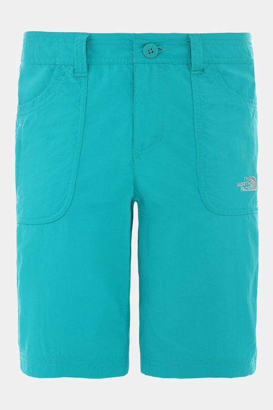 The North Face Womens Horizon Sunnyside Shorts Jaiden Green