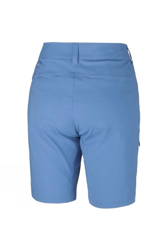 Columbia Womens Saturday Trail Long Shorts Blue Dusk