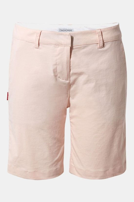 Craghoppers Womens Nosilife Briar Short Seashell Pink