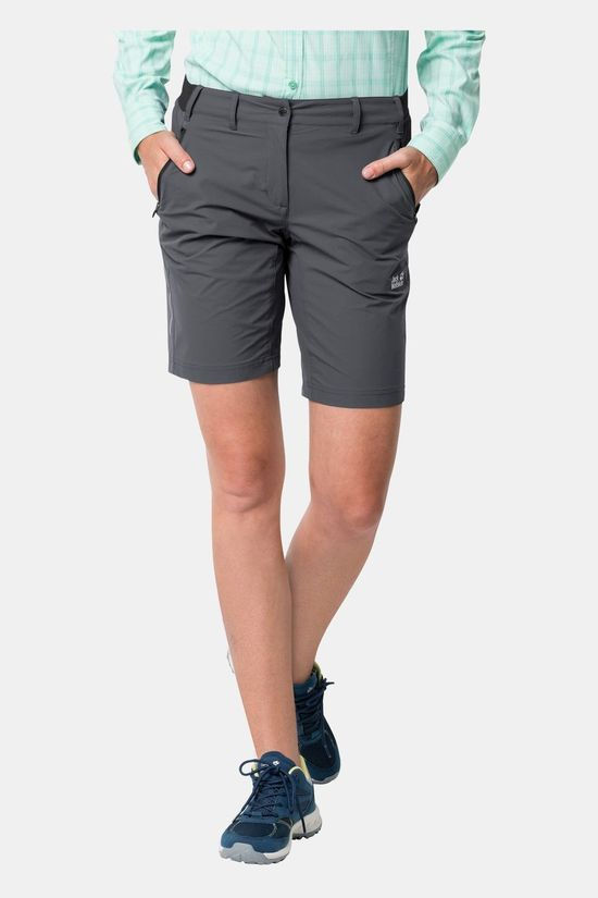 Jack Wolfskin Womens Delta Shorts Dark Iron