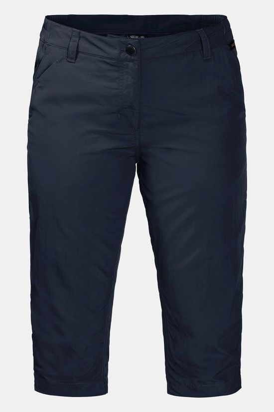 Jack Wolfskin Womens Kalahari 3/4 Pants Midnight Blue