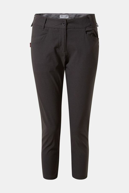Craghoppers Womens Nosilife Clara Crop Trouser Charcoal