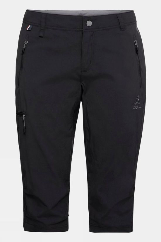 Odlo Women's 3/4 Wedgemount Pants Black