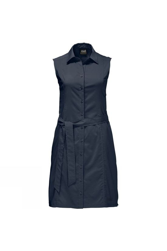 Jack Wolfskin Womens Sonora Dress Midnight Blue