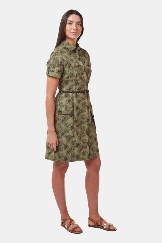 Craghoppers Womens NosiLife Savannah Dress Mid Khaki Print