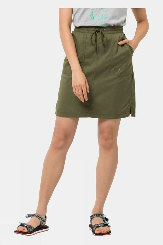 Jack Wolfskin Senegal Skirt Delta Green