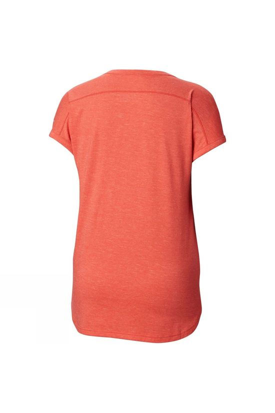 Columbia Womens Pilsner Peak Tee Red Coral