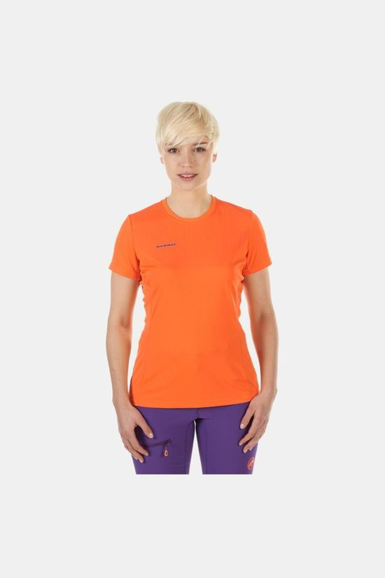 Mammut Womens Moench Light T-Shirt Sunrise
