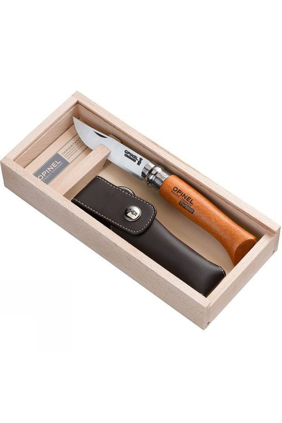 Opinel No.8 Carbon Outdoor Knife Gift Box No Colour