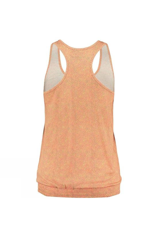 Ayacucho Womens Sabina Top Lots Of Dots Pink/Light Moss