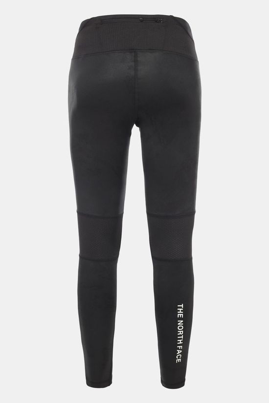 The North Face Womens  Ambition Mid Rise Tight Asphalt Grey Bucky Valley Print