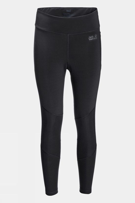 Jack Wolfskin Womens Hike Lite Tight Black