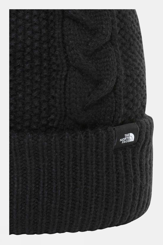 The North Face Womens Cable Minna Beanie TNF Black