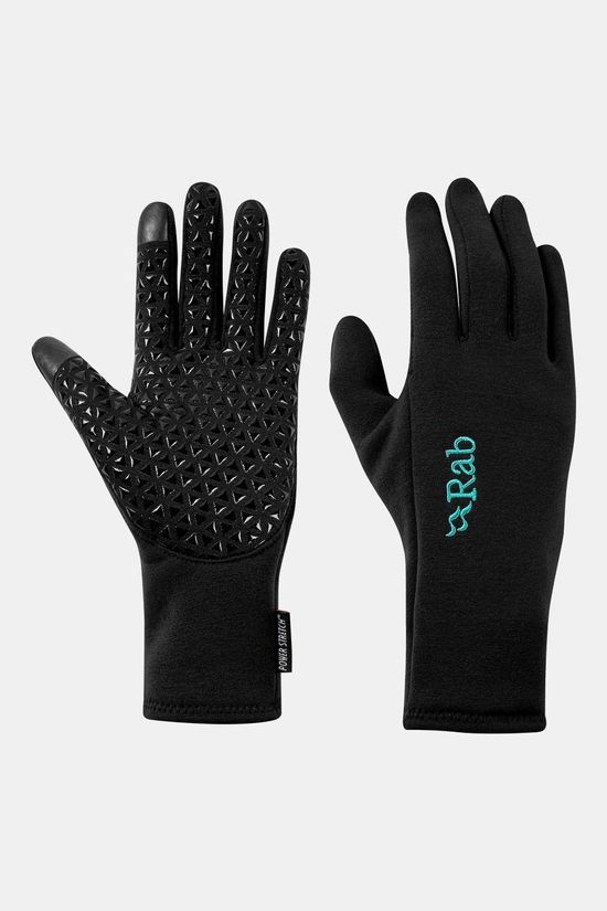 Rab Womens Power Stretch Contact Grip Glove Black