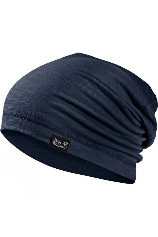 Jack Wolfskin Travel Beanie Night Blue