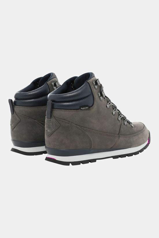 The North Face Mens Back To Berkeley Leather Boot Zinc Grey/Ebony Grey