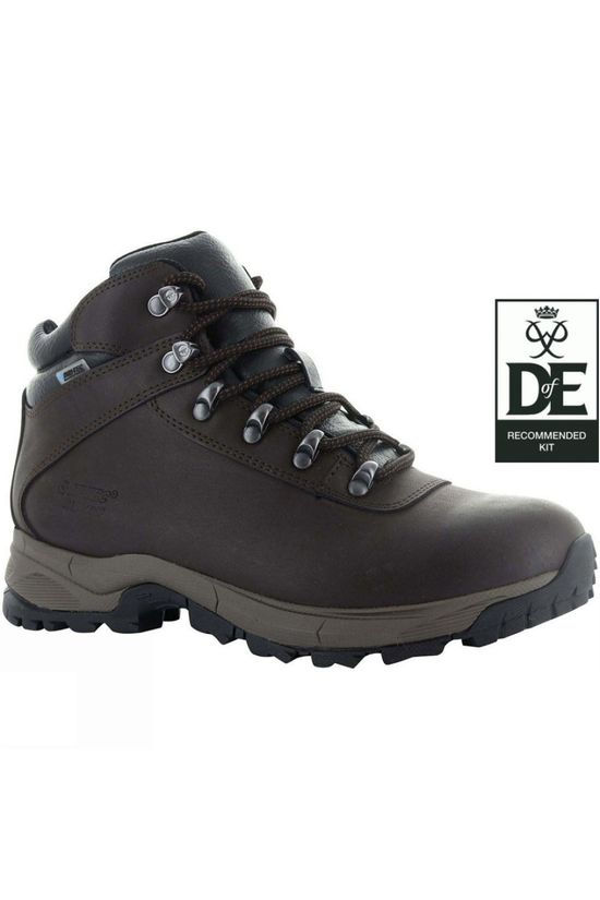 Hi-Tec Women's Eurotrek Lite WP Boot Dark Chocolate