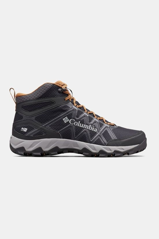 Columbia Mens PEAKFREAK X2 MID OutDry Hiking Boot Black/ Elk