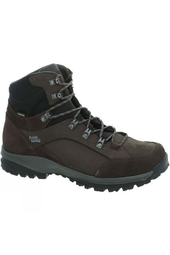 Hanwag Men's Banks SF Extra GTX Boot Mocca/Asphalt