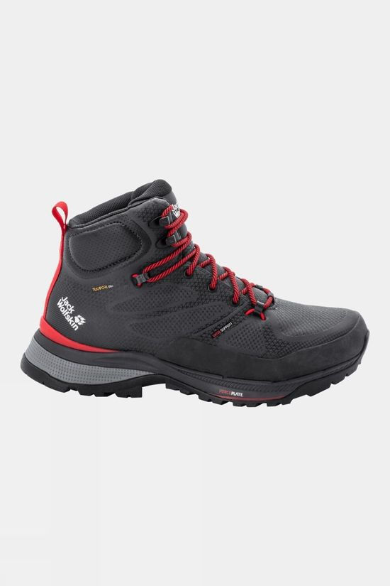 Jack Wolfskin Force Striker Texapore Mid Boot Phantom / Red