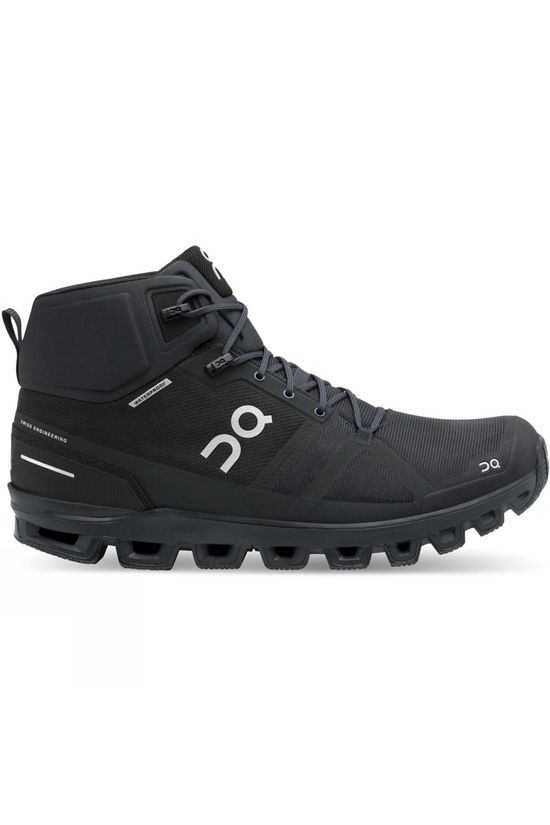 On Men's Cloudrock Waterproof Boot All Black