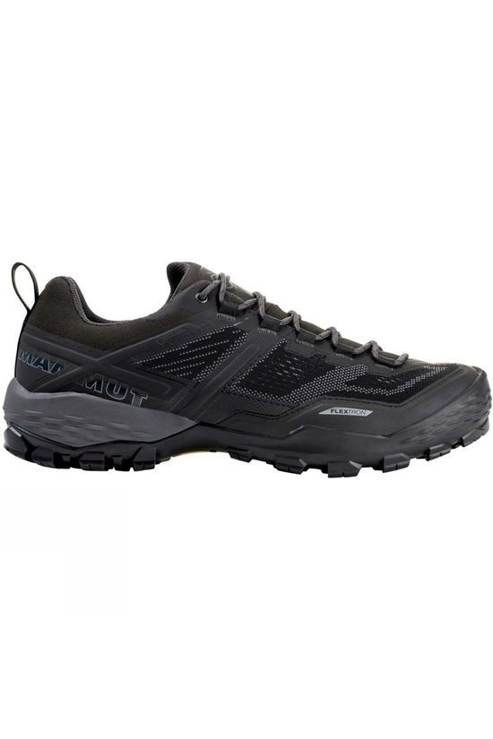 Mammut Mens Ducan Low GTX Shoe Black/Dark Titanium