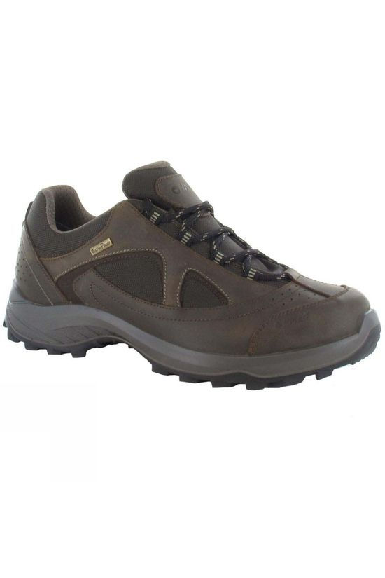 Hi-Tec Men's Walk Lite Camino WP Brown