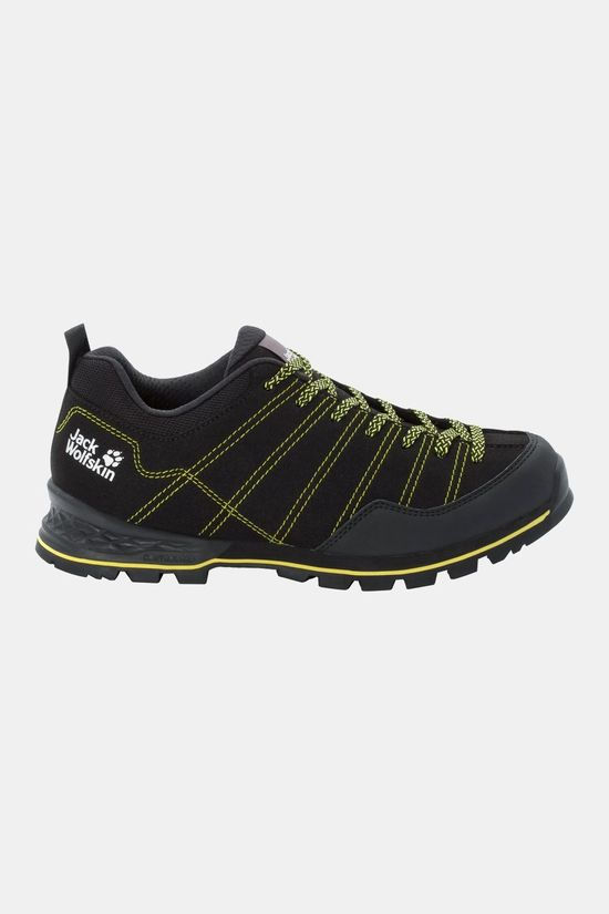 Jack Wolfskin Scrambler Low Shoe Black / Lime