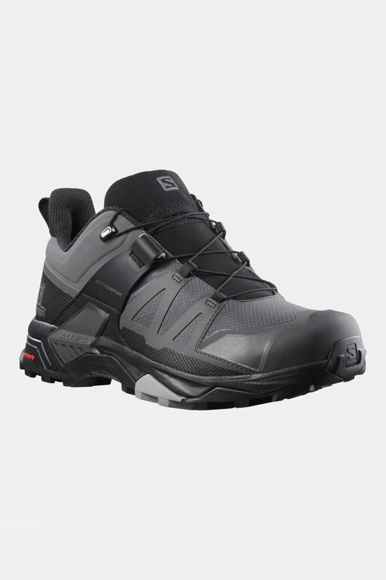 Salomon Mens X Ultra 4 GTX Shoe Magnet/Black/Monument