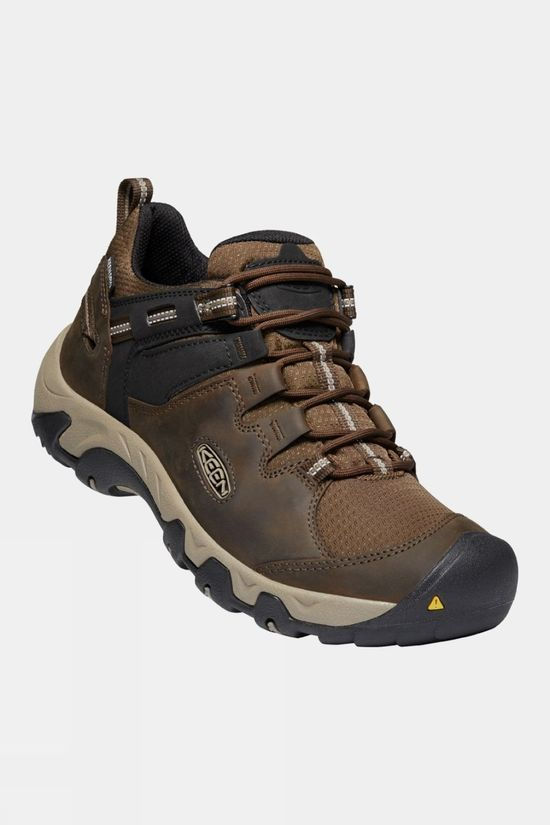 Keen Mens Steen Waterproof Shoe CANTEEN/BRINDLE