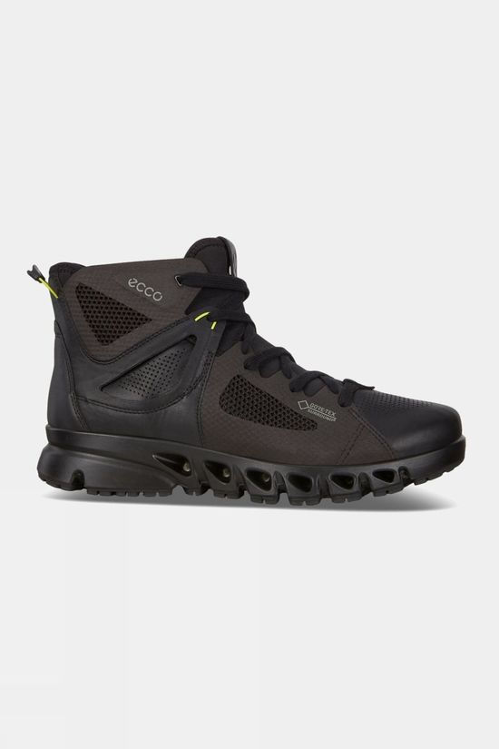 Ecco Mens Multi-Vent Boot Black/Lime Punch