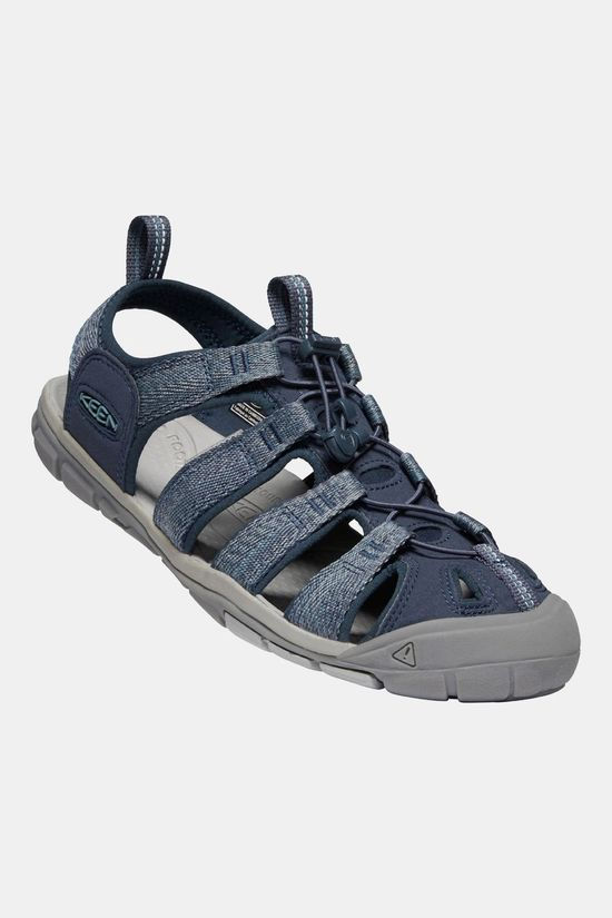 Keen Mens Clearwater CNX Sandal Blue/Steel Grey