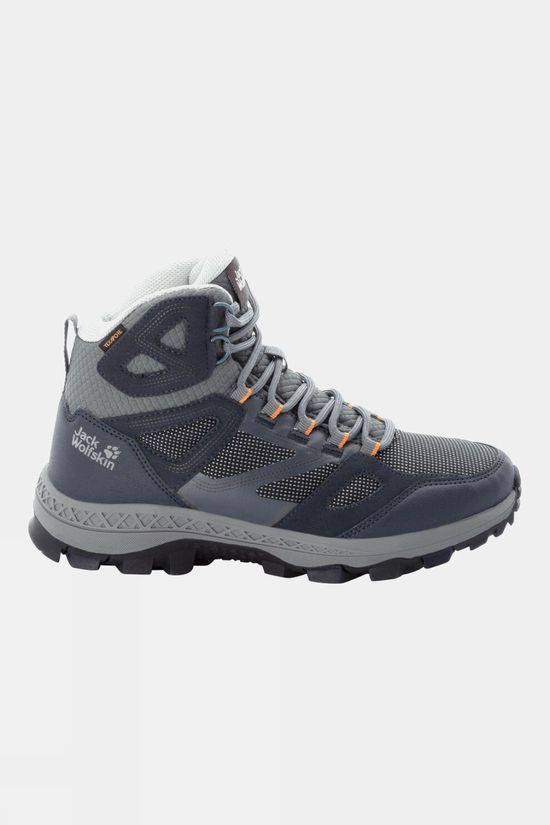 Jack Wolfskin Women's Hownhill Texapore Mid Dark Blue / Grey