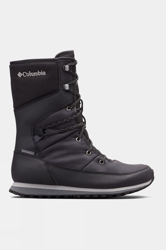 Columbia Womens Wheatleigh Mid Boot Black, Columbia Grey