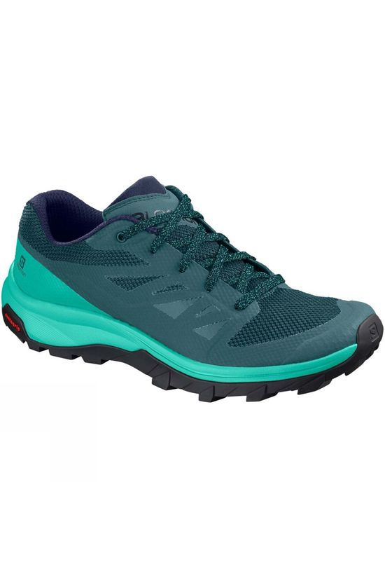 Salomon Womens OUTline Shoe Hydro./Atlantis/Medieval Blue