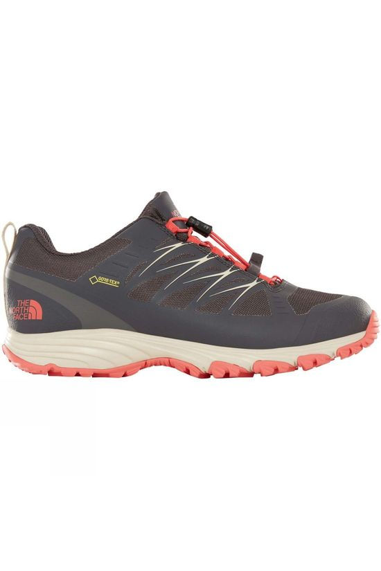 The North Face Womens Venture Fastlace GTX Shoe Blackend Pearl/Fiesta Red