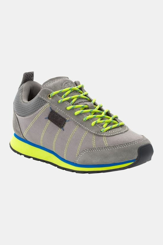 Jack Wolfskin Womens Mountain Dna Low Grey / Green