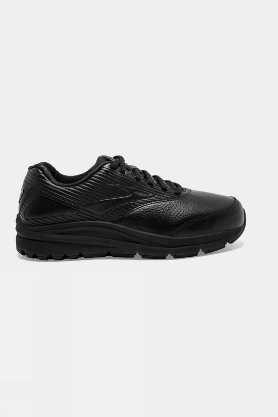 Brooks Womens Addiction Walker 2 Wide Black/Black