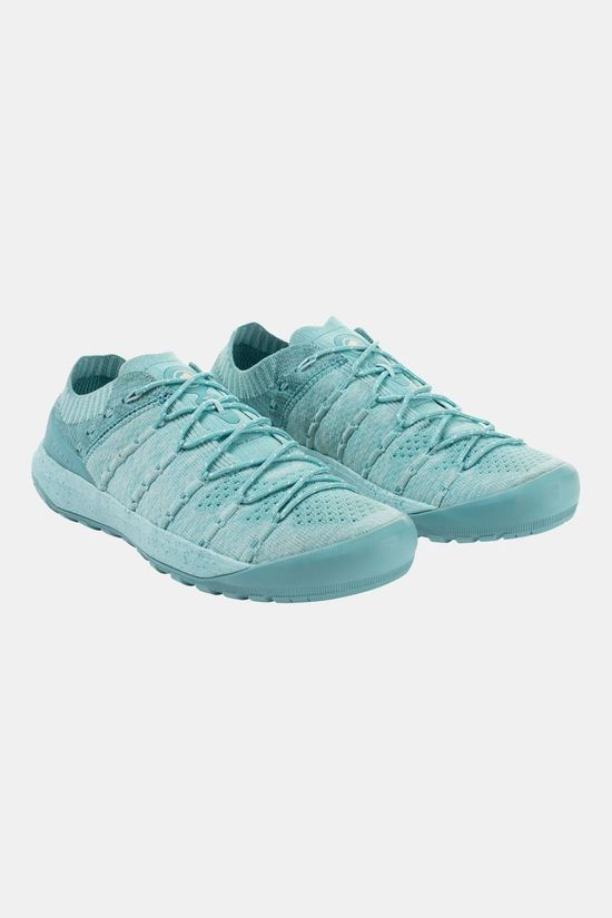 Mammut Womens Hueco Knit Low Shoe Waters/Light Waters