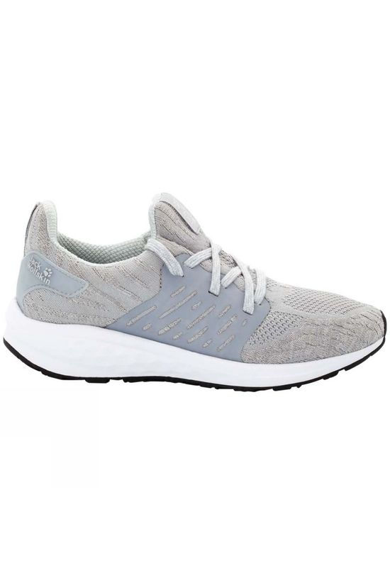 Jack Wolfskin Womens Coogee Knit Low Slate Grey
