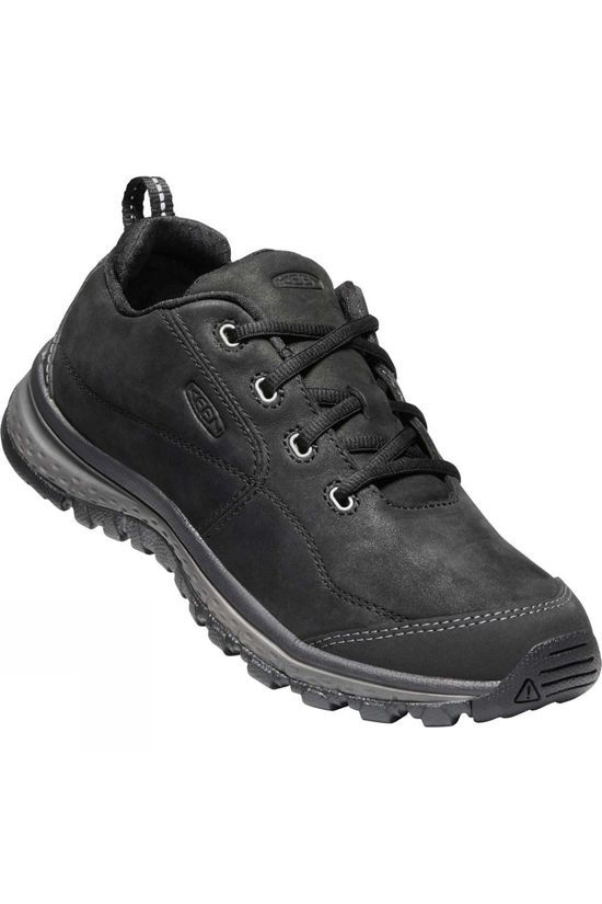 Keen Womens Terradora Leather Shoes Black/Raven