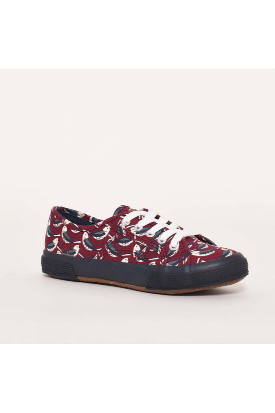 Brakeburn Finch trainers Plum