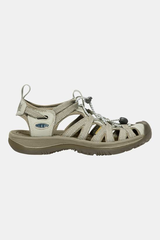 Keen Womens Whisper Sandal Agate Grey/Blue Opal