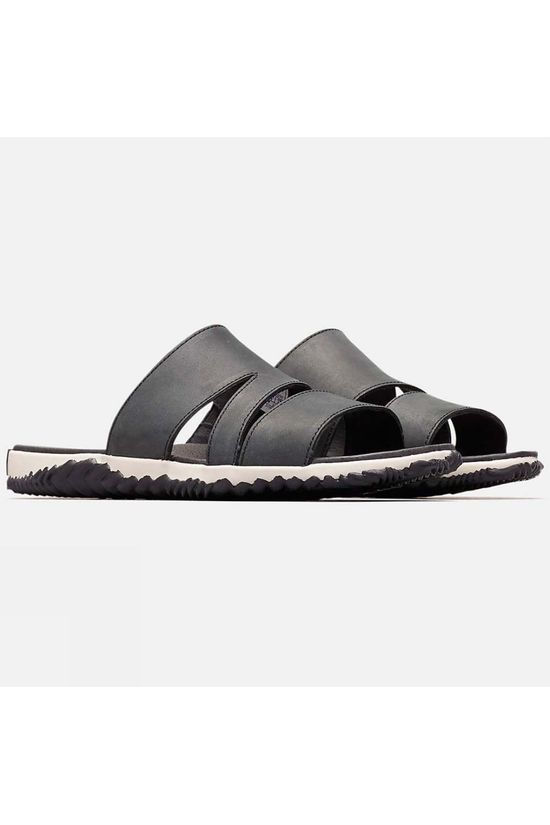 Sorel Womens Out 'n About Plus Slide Black