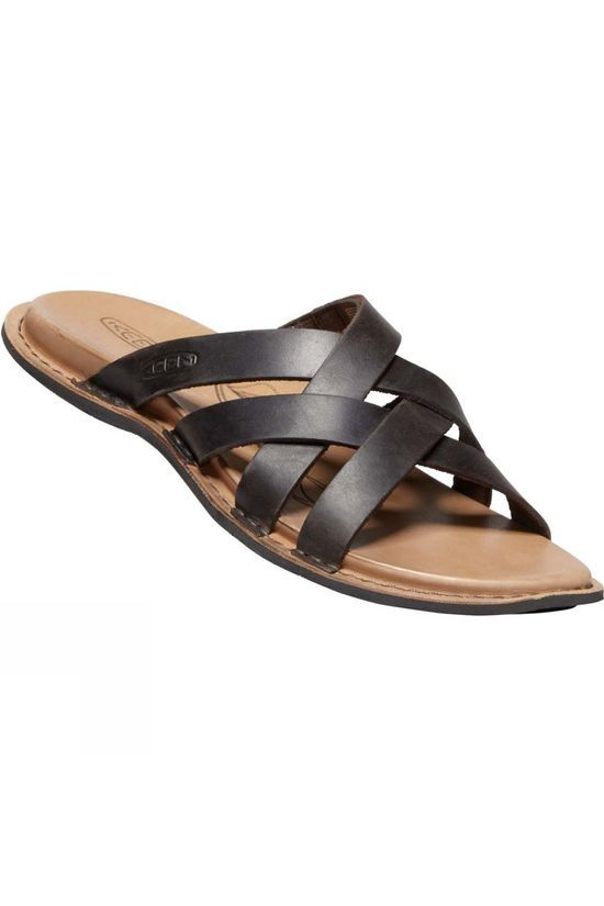 Keen Womens Sofia Slide Leather Mule Sandal Mulch