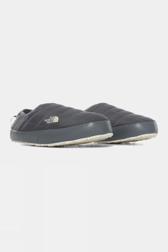 The North Face Women's ThermoBall Eco Traction Mules V Slipper Vanadis Grey/Vintage White