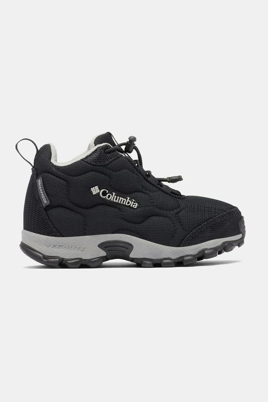 Columbia Children's Firecamp Mid 2 Waterproof Shoe Black/ Monument